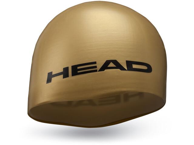 Head Silicone Moulded Gorra, Dorado